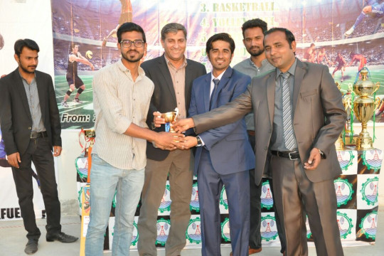 Mega Sports event ends at KFUEIT