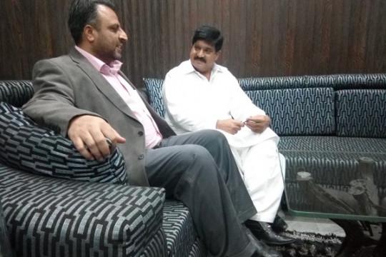 MNA Muslim League (N) Mian Imtiaz Ahmad visits KFUEIT