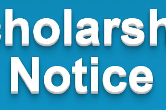 Scholarship Notice