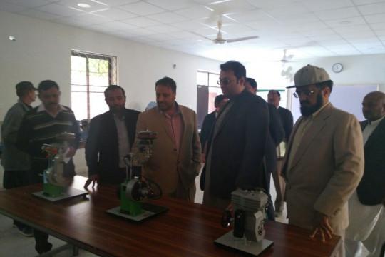 Ch. Omer Jafar Visits KFUEIT