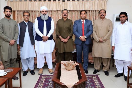 Prof Dr Muhammad Suleman Tahir, called on Gen. (Reted) Asim Saleem Bajwa, Chairman CPEC Authorit