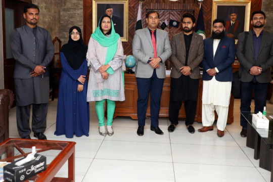 Winners of Divisional Level Qiraat, Naat and Speech Competition