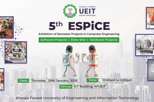 5th ESPICE organized by Department of Computer Engineering