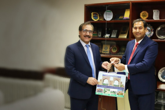 Vice Chancellor KFUEIT paid a visit to Chairman Pakistan Science Foundation
