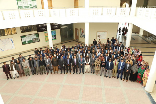 Interactive session of Worthy Vice Chancellor with all Faculty Members of KFUEIT